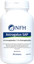 Load image into Gallery viewer, NFH Astragalus SAP 90 Capsules