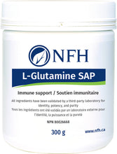 Load image into Gallery viewer, NFH L-Glutamine SAP 300g