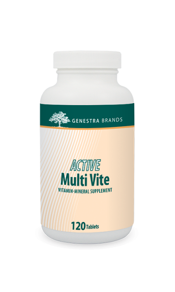 Genestra Active Multi Vite 120 Tablets