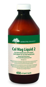 Genestra Cal Mag Liquid 2 - Fruit Punch 450ml