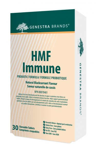 Genestra HMF Immune 30 Chewable Tablets