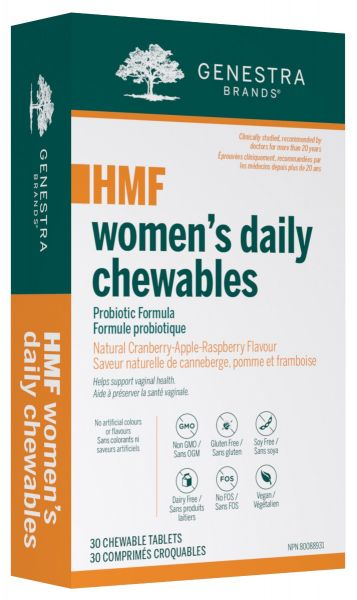 Genestra HMF Women's Daily Chewables 30 Tablets