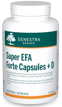 Load image into Gallery viewer, Genestra Super EFA Forte Capsules + D 60 Softgels