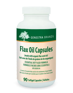 Genestra Flax Oil Capsules 90 Softgels