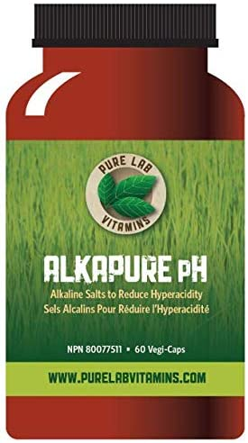 Pure Lab AlkaPure pH 60 Capsules