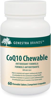 Genestra CoQ10 Chewable 60 Tablets