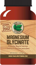 Load image into Gallery viewer, Pure Lab Magnesium Glycinate 120 Capsules
