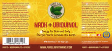 Load image into Gallery viewer, Pure Lab NADH+Ubiquinol 60 Capsules