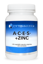 Load image into Gallery viewer, Cyto-Matrix A.C.E.S. + Zinc 120 Capsules