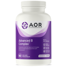 Load image into Gallery viewer, AOR Advanced B Complex 90 Capsules