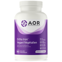 Load image into Gallery viewer, AOR Ortho Iron Vegan 60 Capsules
