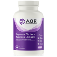 Load image into Gallery viewer, AOR Magnesium Glycinate 90 Capsules