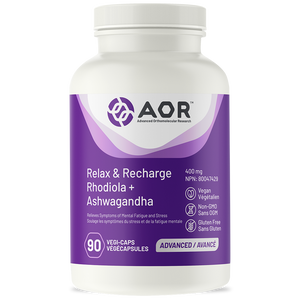 AOR Relax & Recharge 90 Capsules