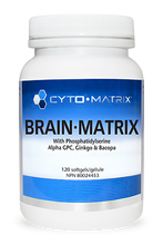 Load image into Gallery viewer, Cyto-Matrix Brain Matrix 120 Capsules