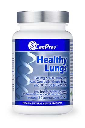 CanPrev Healthy Lungs™ 90 Capsules