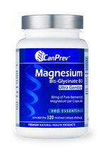 Load image into Gallery viewer, CanPrev Magnesium Bis-Glycinate 80 Ultra Gentle 120 Capsules