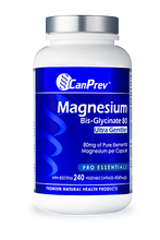 Load image into Gallery viewer, CanPrev Magnesium Bis-Glycinate 80 Ultra Gentle 240 Capsules