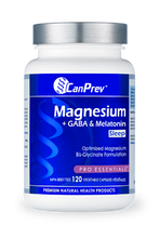Load image into Gallery viewer, CanPrev Magnesium + GABA & Melatonin for Sleep 120 Capsules