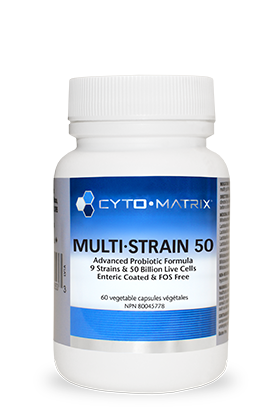 Cytomatrix Multi-Strain 50 60 Enteric-Coated Capsules