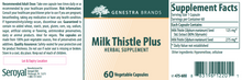 Load image into Gallery viewer, Genestra Milk Thistle Plus 60 Capsules