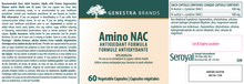 Load image into Gallery viewer, Genestra Amino NAC 60 Capsules