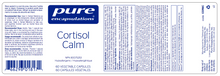 Load image into Gallery viewer, Pure Encapsulations Cortisol Calm 60 Capsules