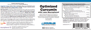 Douglas Laboratories Optimized Curcumin With Neurophenol  60 Capsules