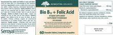 Load image into Gallery viewer, Genestra Bio B12 + Folic Acid 60 Chewable Tablets