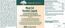 Load image into Gallery viewer, Genestra Mag Cal Vanilla Liquid 450ml