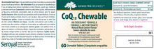Load image into Gallery viewer, Genestra CoQ10 Chewable 60 Tablets