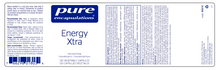Load image into Gallery viewer, Pure Encapsulations Energy Xtra 120 Capsules