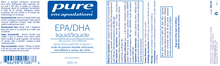Load image into Gallery viewer, Pure Encapsulations EPA/DHA liquid 200ml
