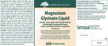 Load image into Gallery viewer, Genestra Magnesium Glycinate Liquid 450ml