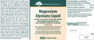 Genestra Magnesium Glycinate Liquid 450ml