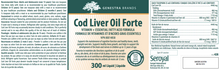 Load image into Gallery viewer, Genestra Cod Liver Oil Forte 300ml Liquid