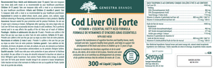 Genestra Cod Liver Oil Forte 300ml Liquid