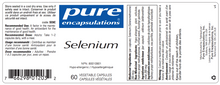 Load image into Gallery viewer, Pure Encapsulations Selenium 60 Capsules