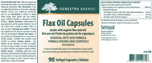 Load image into Gallery viewer, Genestra Flax Oil Capsules 90 Softgels