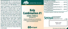 Load image into Gallery viewer, Genestra Kelp Combination # 1 60ml