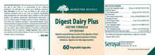 Load image into Gallery viewer, Genestra Digest Dairy Plus 60 Capsules