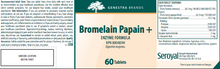 Load image into Gallery viewer, Genestra Bromelain Papain+ 60 Tablets