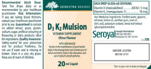 Load image into Gallery viewer, Genestra D3 K2 mulsion 20ml
