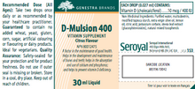 Load image into Gallery viewer, Genestra D-Mulsion 400 30ml