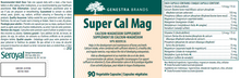 Load image into Gallery viewer, Genestra Super Cal Mag 90 Capsules