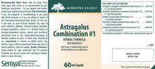 Load image into Gallery viewer, Genestra Astragalus Combination # 1 60ml