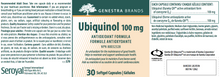 Load image into Gallery viewer, Genestra Ubiquinol - 100 mg 30 Softgels