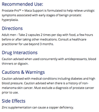 Load image into Gallery viewer, CanPrev Prostate-Pro + Maca Support 100 Capsules