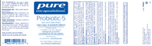 Load image into Gallery viewer, Pure Encapsulations Probiotic-5 60 Capsules