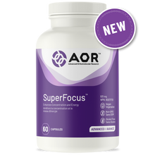 Load image into Gallery viewer, AOR SuperFocus 60 Capsules