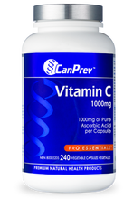 Load image into Gallery viewer, CanPrev Vitamin C 1000mg 240 Capsules
